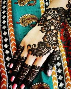 Arabic Mehndi intend