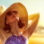 Линзы  помогут защитить глаза от солнца